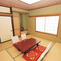 *客室一例/シンプルな和室タイプ。どのお部屋になるかはお楽しみです♪