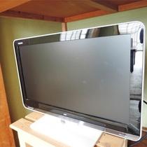 *客室一例/全室テレビ設置。トイレ・お風呂は共用スペースをご利用下さい。