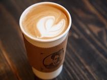 大人気のカフェラテ
