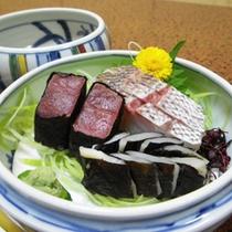 *【夕食一例】食材に恵まれた当館ならでは料理をお楽しみ下さい。