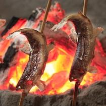 *炭火焼 川魚