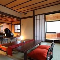 5階の露天風呂付き特別室