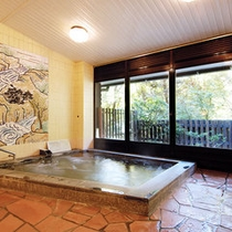 【大浴場】岩風呂は男性専用となります。