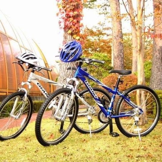 森の中のサイクリングは最高です 写真提供:楽天トラベル
