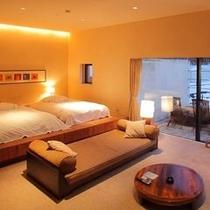 【フォレストヴィレッジ ツインルーム】色々なお部屋をお楽しみいただけます。(客室一例)