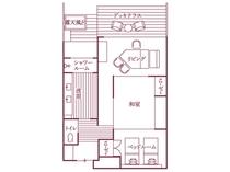 福地Aタイプ(445号室・85平米)/間取り図