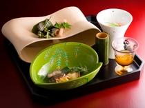旬皿/ご夕食イメージ(お献立は季節毎に替わります)