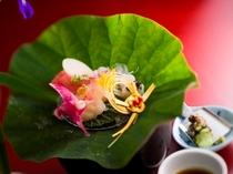 旬魚盛り合わせ/ご夕食イメージ)(お献立は季節毎に替わります)