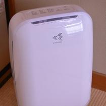 【部屋設備】全室に空気清浄器を設置しております