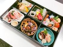 夕食に召し上がる京の和膳(別料金・別途要予約)
