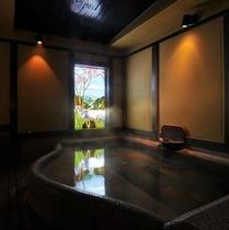 内風呂「懐古の湯」/ご利用時間:24時間