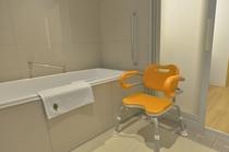 ユニバーサルルーム 客室内バスルーム