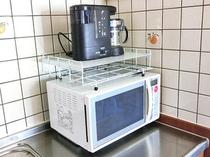【コーヒーメーカー・電子レンジ】