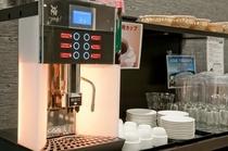 レストラン:コーヒーマシーン