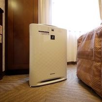 加湿空気清浄機 全室完備