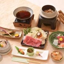*(秋B)国産牛のすきやき鍋コース/贅沢国産牛をあったか甘いすきやきで♪