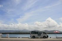 竹富島の港風景