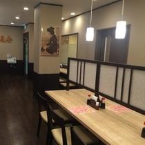 バイキングSHIDAKA 朝食・夕食会場です。