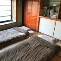 個室。ゆったりくつろいでいただけるお部屋です。