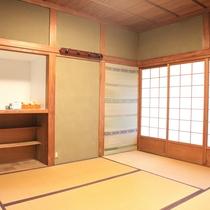 和室のお部屋。
