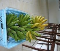 ありまばる農園の自家製バナナ