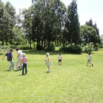 *【アクティビティ】鬼ごっこや軽スポーツなど様々な活動を楽しんでいます。