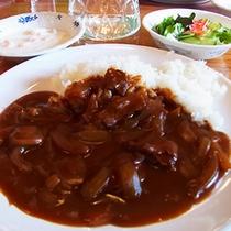 *【昼食例】ボリュームも味も定評があります。