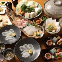 *【クエフルコース】幻の高級魚クエを贅沢にフルコースでご堪能下さい