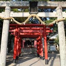 *周辺観光:糸我稲荷神社