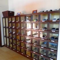 ロビー 靴箱