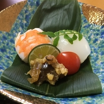 【白浜の恵会席】手まり寿司