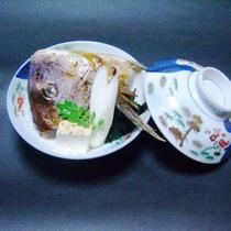 【白浜の恵会席】鯛のあら煮
