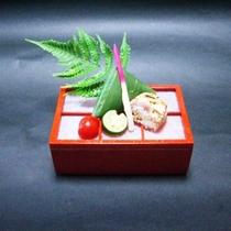 【白浜の恵会席】ハモ笹寿司