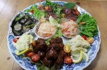 鹿肉の皿鉢料理