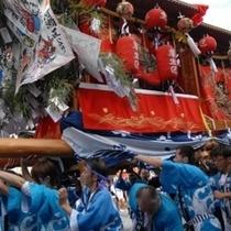 隅田八幡神社の秋祭り