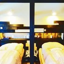 ゲストハウス(ベッド)