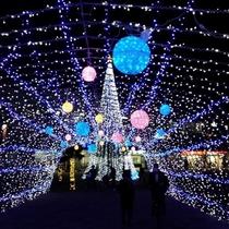天理イルミネーション 光の祭典