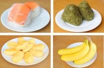 無料朝食に新メニュー『ます寿しおにぎり』 『オムレツ』 『バナナ』/大人気の『黒とろろおにぎり
