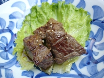 サイコロステーキ〜「美味しい!」とのお声