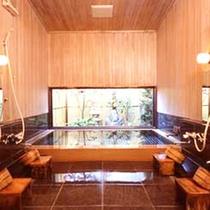 *【風呂】エゾ檜造りのお風呂で心身ともにリフレッシュ♪