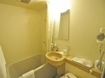 【浴室】特別室、和洋室、シングルルームの浴室です。