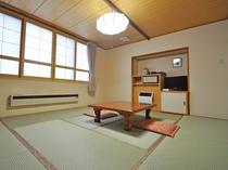 【客室:和室10畳】4名様までご利用いただける和室です。