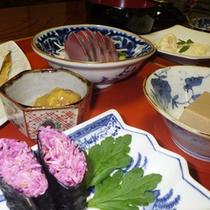 *【夕食例】目と舌で味わう庄内の味覚…ぜひ一度ご賞味下さい。