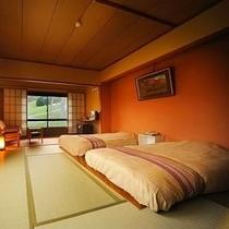 【倶楽部ルーム】■和室10畳+ベット■バス・トイレ付
