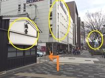 烏丸御池駅~ホテルへのアクセス⑦
