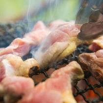 ◆地鶏炭火焼「ぽっぽしゃん」