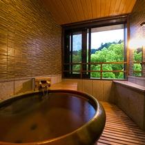 ◆朝霧-asagiri-/かすみ-kasumi- 客室展望風呂◆