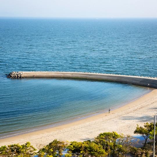 ホテルからの海岸風景 写真提供:楽天トラベル