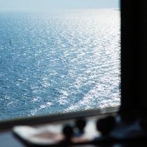 ◆部屋から見える海原◆