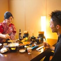 ◆カップルでお食事◆